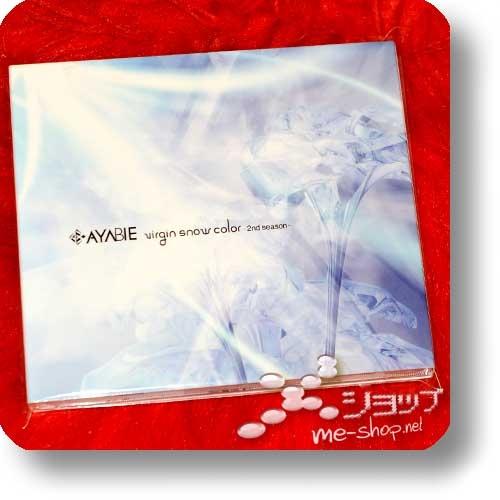 AYABIE - virgin snow color -2nd season- (inkl.Photobooklet!) (Re!cycle)-22285