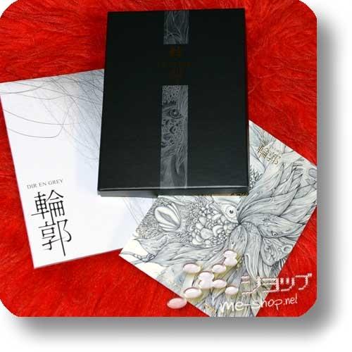 DIR EN GREY - Rinkaku (LIM. DELUXE BOX CD+Live-DVD+Photobook+Sticker+Postcard) +Bonus-Fotopostkarte+Sticker! (Re!cycle)-22440