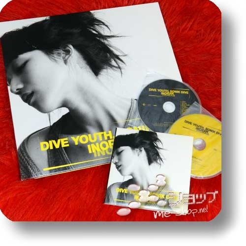 INORAN - DIVE YOUTH, SONIK DIVE (lim.15th anniversary edition CD+DVD+Analog-LP) (LUNA SEA) (Re!cycle)-0