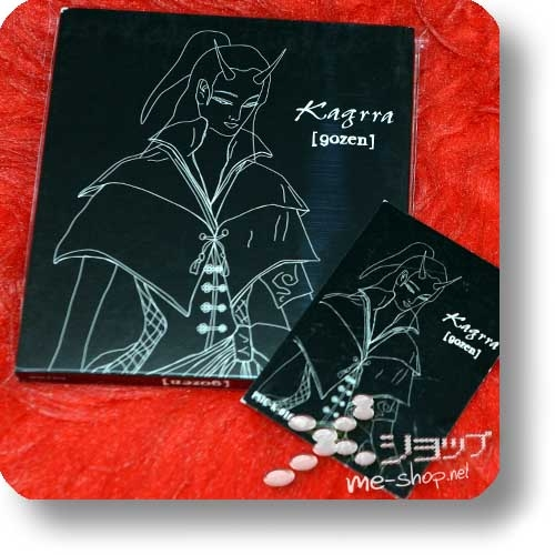 KAGRRA, - [gozen] (lim.Digipak / PSC-Originalpressung 2002!)+Bonus-Sticker! (Re!cycle)-0