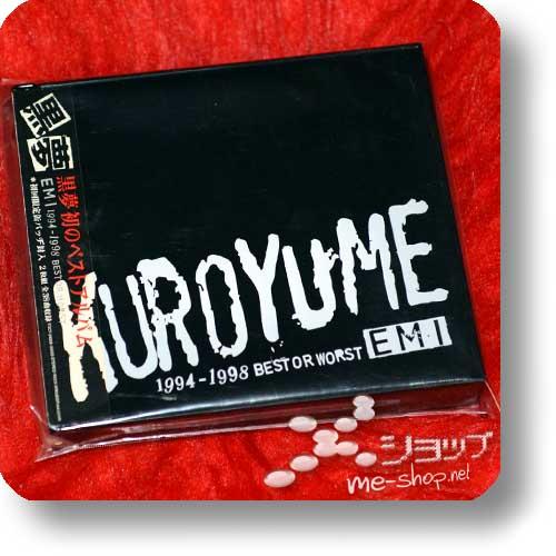 KUROYUME - EMI 1994~1998 BEST OR WORST (2CD) (Re!cycle)-0