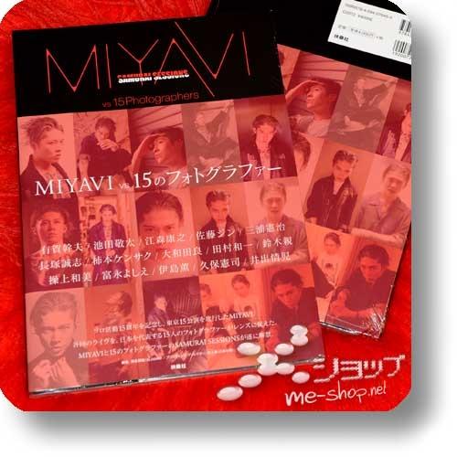 MIYAVI - SAMURAI SESSIONS MIYAVI vs 15 Photographers (Photobook / 2017)-0