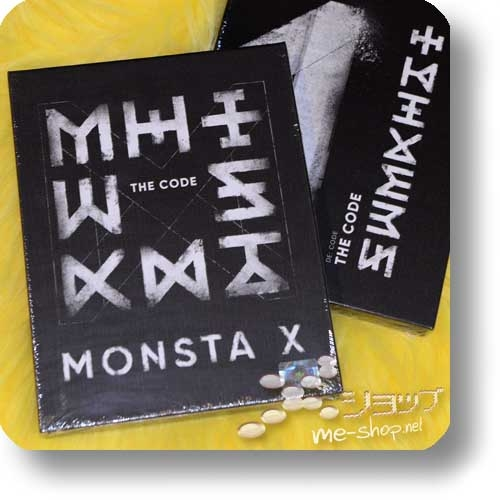 "MONSTA X - 5th Mini Album THE CODE (""DE:CODE"" ver. lim.Boxset / ORIG.KOREAPRESSUNG!)-0"