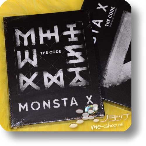 "MONSTA X - 5th Mini Album THE CODE (""PROTOCOL TERMINAL"" ver. lim.Boxset / ORIG.KOREAPRESSUNG!)-0"