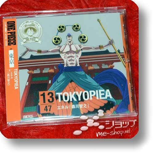 ONE PIECE - Nippon Juudan! 47 Cruise CD 13/47: Tokyo / Enel (Tomoyuki Morikawa) - TOKYOPIEA (Re!cycle)-0
