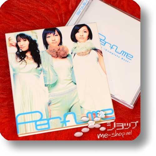 PERFUME - ~Complete Best~ (CD+DVD inkl.Bonustrack) (Re!cycle)-0