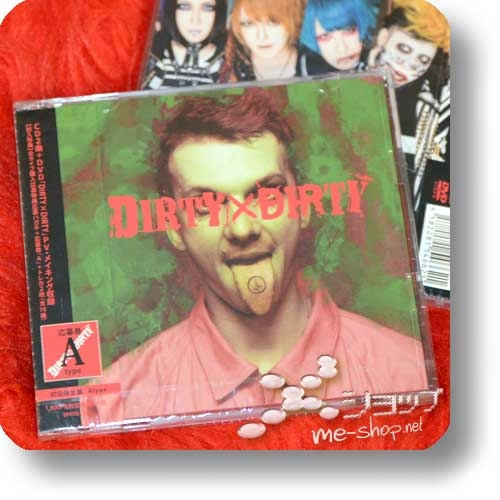 CODOMO DRAGON - DIRTY x DIRTY (lim.CD+DVD A-Type) +Bonus-Fotokarte!-0