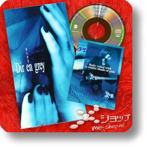 "DIR EN GREY - Yurameki (3""/8cm-Single-CD inkl.Tradingcard!) (Re!cycle)-0"
