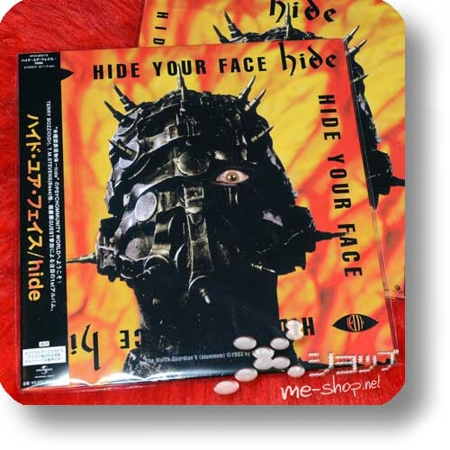 hide - HIDE YOUR FACE (lim.2LP / analog)-0
