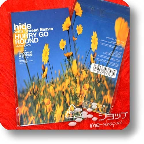 "hide with Spread Beaver - HURRY GO ROUND (3""/8cm-Single-CD / Orig.1998!) (Re!cycle)-0"