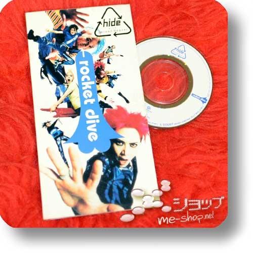 "hide with Spread Beaver - rocket dive (3""/8cm-Single-CD / Orig.1998!) (Re!cycle)-22785"