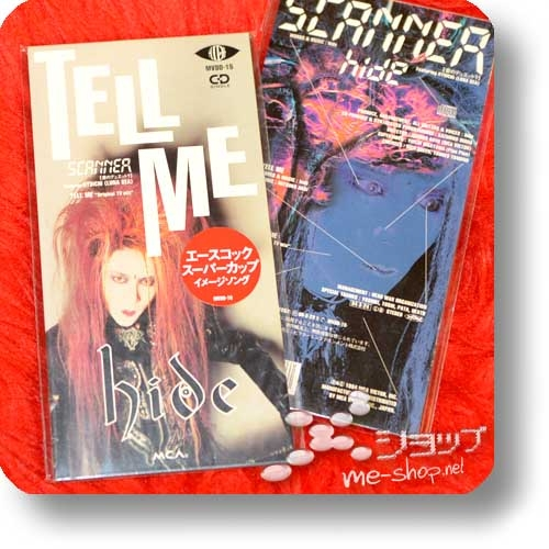 "hide - TELL ME (3""/8cm-Single-CD, orig.1994! / feat.Ryuichi (LUNA SEA)) (Re!cycle)-0"