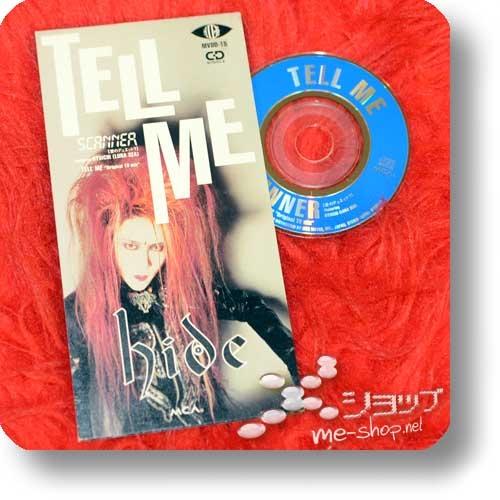 "hide - TELL ME (3""/8cm-Single-CD, orig.1994! / feat.Ryuichi (LUNA SEA)) (Re!cycle)-22772"