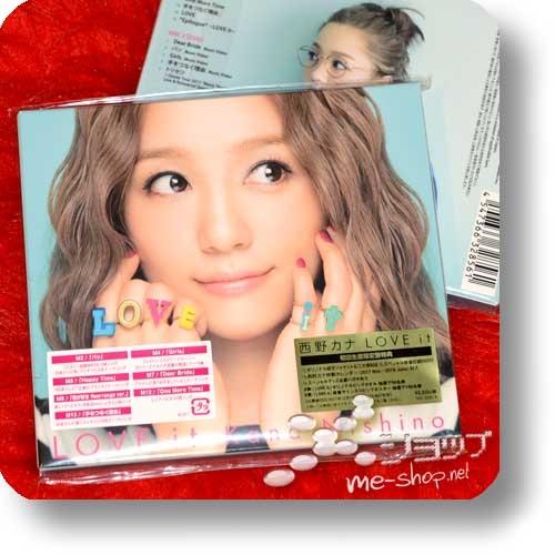 KANA NISHINO - LOVE it (lim.CD+DVD+Bonus!)-0