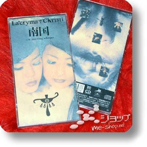 "LA'CRYMA CHRISTI - Nangoku (3""/8cm-Single-CD / lim.1.Press Hardbox) (Re!cycle)-0"