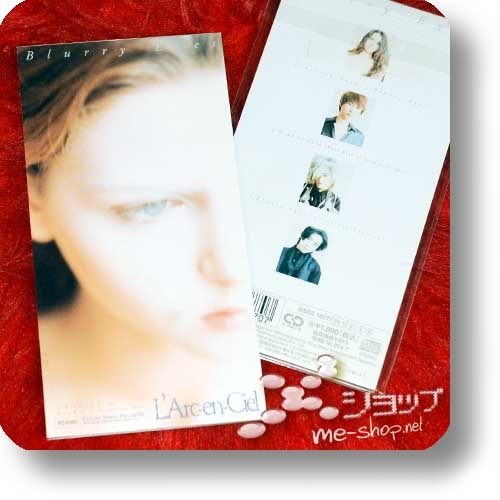 "L'ARC~EN~CIEL - Blurry Eyes (3""/8cm-Single-CD / Orig.1994!) (Re!cycle)-0"