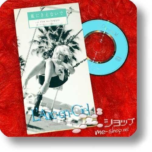 "L'ARC~EN~CIEL - Kaze ni kienaide (3""/8cm-Single-CD / Orig.1996!) (Re!cycle)-22919"