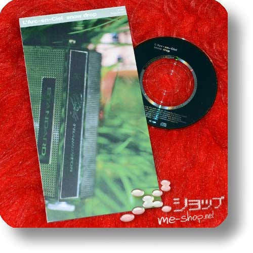 """L'ARC~EN~CIEL - snow drop (3""""/8cm-Single-CD / Orig.1998!) (Re!cycle)-22950"""