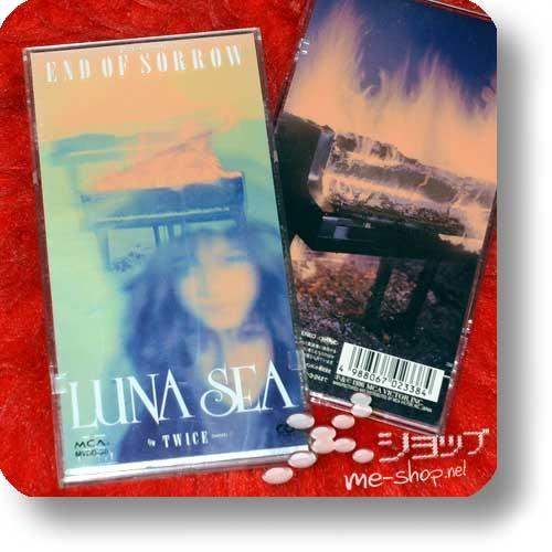 "LUNA SEA - END OF SORROW (3""/8cm-Single-CD / Orig.1996! / lim.1.Press Hardbox) (Re!cycle)-0"