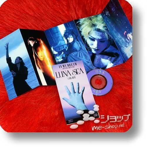 "LUNA SEA - IN MY DREAM (WITH SHIVER) lim.1.Press+Bonus-Fotobooklet! (3""/8cm-Single-CD / Orig.1993!) (Re!cycle)-0"