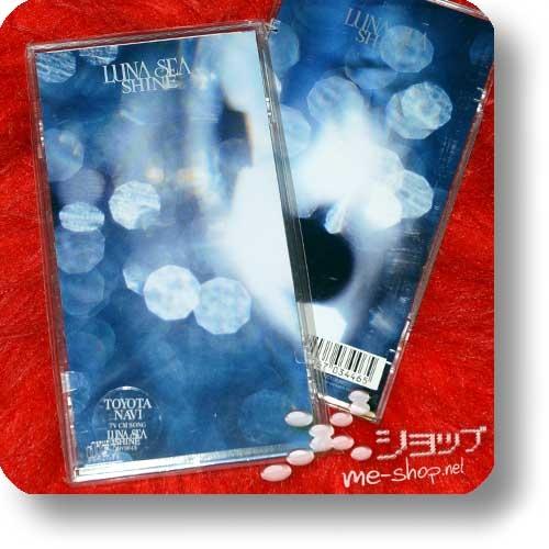 "LUNA SEA - SHINE (3""/8cm-Single-CD / Orig.1998! / lim.1.Press Hardbox) (Re!cycle)-0"