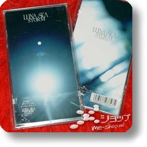 "LUNA SEA - STORM (3""/8cm-Single-CD / Orig.1998! / lim.1.Press Hardbox) (Re!cycle)-0"