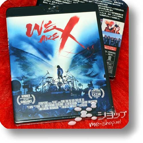 X JAPAN - WE ARE X (Blu-ray)+Bonus-Clearfile!-0