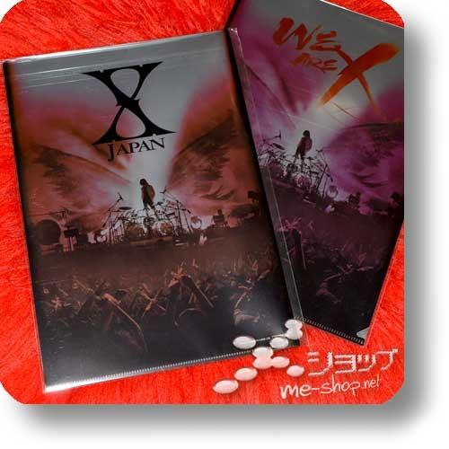 X JAPAN - WE ARE X (lim.Collector's Edition 1xBlu-ray+Alurahmen+Bonus)+Bonus-Clearfile!-22739