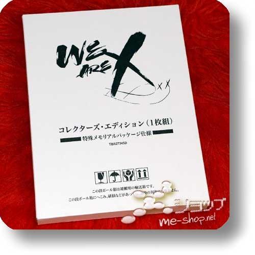 X JAPAN - WE ARE X (lim.Collector's Edition 1xBlu-ray+Alurahmen+Bonus)+Bonus-Clearfile!-22729