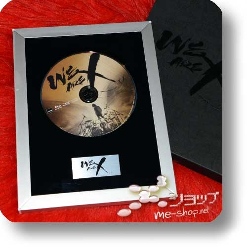 X JAPAN - WE ARE X (lim.Collector's Edition 1xBlu-ray+Alurahmen+Bonus)+Bonus-Clearfile!-0