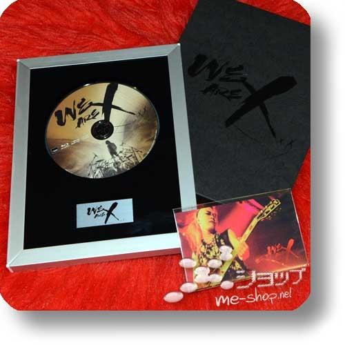 X JAPAN - WE ARE X (lim.Collector's Edition 1xBlu-ray+Alurahmen+Bonus)+Bonus-Clearfile!-22726