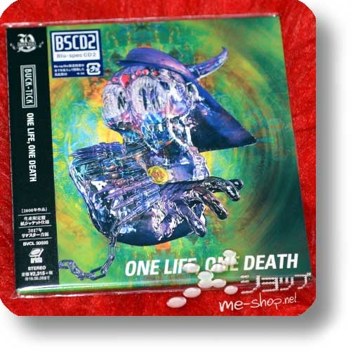 BUCK-TICK - ONE LIFE, ONE DEATH (lim.Reissue 2017 / Papersleeve / BSCD2)-0