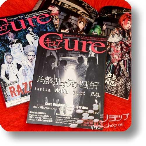 CURE Vol.174 (März 2018) BugLug/vistlip/R Shitei/Kiryu / RAZOR, A9, Pentagon, Lezard, the Raid...-0