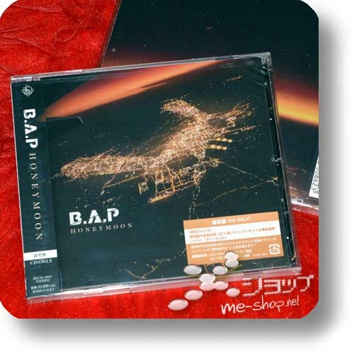 B.A.P - HONEYMOON (Japan 8th Single) (Re!cycle)-0