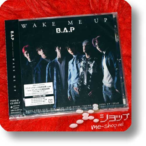 B.A.P - Wake Me Up (Japan 7th Single / B-Type inkl.Bonustrack!) (Re!cycle)-0