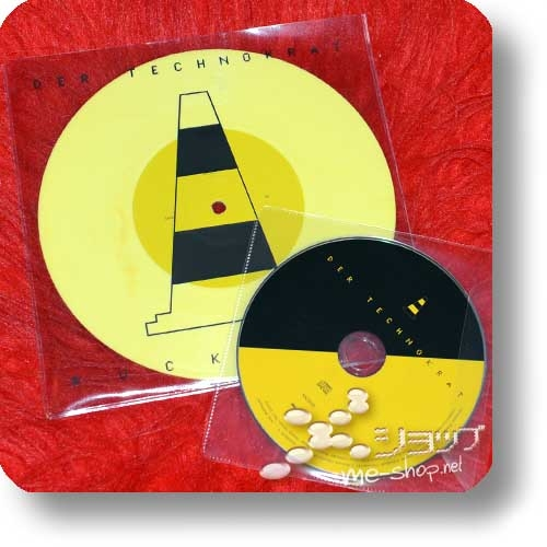 "DER TECHNOKRAT - RUCKZUCK (7""-Single Yellow Vinyl+CD / lim.300) feat. Ralf Dörper, Richard Kirk-0"