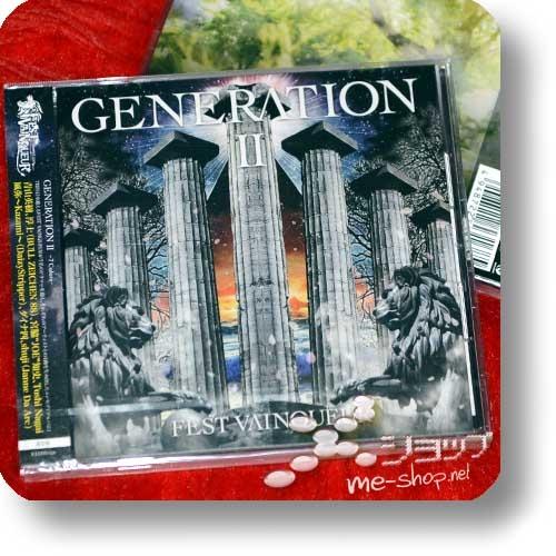 FEST VAINQUEUR - GENERATION 2 ~7Colors~ (inkl.Bonustrack) (Babymetal, Bull Zeichen 88, DaizyStripper, Janne Da Arc)-0
