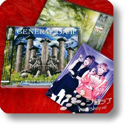 FEST VAINQUEUR - GENERATION 2 ~7Colors~ (lim.CD+DVD) (Babymetal, Bull Zeichen 88, DaizyStripper, Janne Da Arc)+Bonus-Fotokarte-0