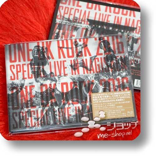 ONE OK ROCK - 2016 SPECIAL LIVE IN NAGISAEN (2BLU-RAY / lim.Digibook)-0