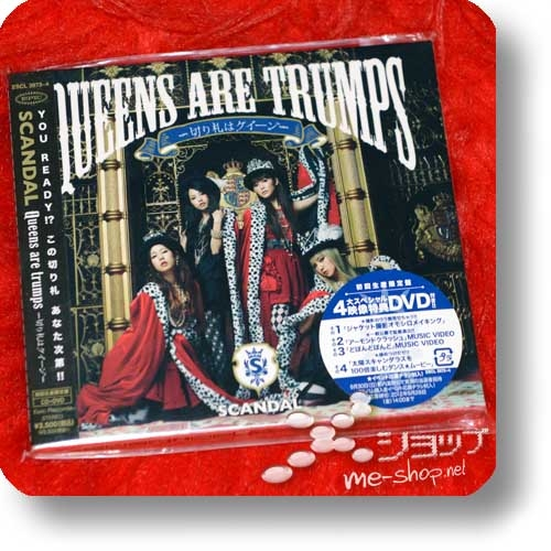 SCANDAL - Queens are trumps (lim.CD+DVD) (Re!cycle)-0