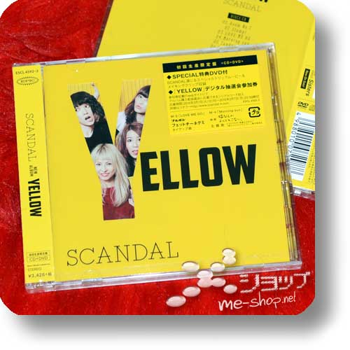 SCANDAL - YELLOW (lim.CD+DVD) (Re!cycle)-0