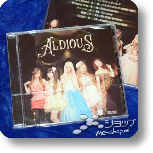 ALDIOUS - Unlimited Diffusion (UK-Pressung)-0