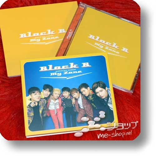 "BLOCK B - My Zone (Japan First Album / lim.CD+Photobook ""Web ban"") (Re!cycle)-0"