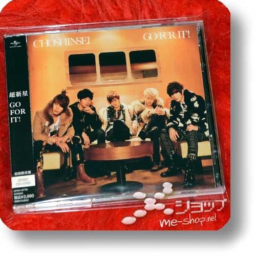 CHOSHINSEI - GO FOR IT! (Dakishimetai / Supernova / Choshinsung) lim.CD+DVD (Re!cycle)-0