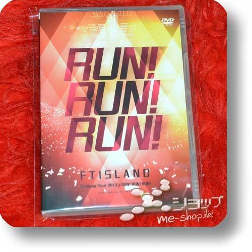 FTISLAND - Summer Tour 2012 +RUN! RUN! RUN! @SAITAMA SUPER ARENA (Live-DVD / F.T.Island) (Re!cycle)-0