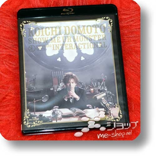 KOICHI DOMOTO - SHOW ME UR MONSTER / INTERACTIONAL (Blu-ray / KinKi Kids) (Re!cycle)-0