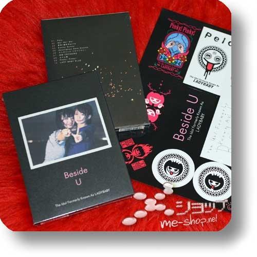 THE IDOL FORMERLY KNOWN AS LADYBABY - Beside U (lim.CD+Photobook!) +Bonus-Stickerbogen!-0