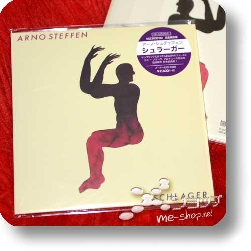 ARNO STEFFEN - SCHLAGER (CD Reissue 2018 / Papersleeve / lim.300!)-0