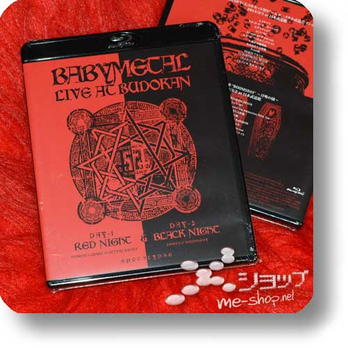 BABYMETAL - LIVE AT BUDOKAN (Blu-ray) (Re!cycle)-0