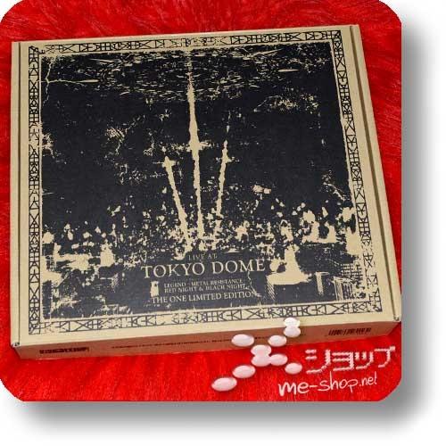 "BABYMETAL - LIVE AT TOKYO DOME (lim. ""THE ONE"" 6-Disc FC-Boxset 4CD+2Blu-ray+Photobook!) +Bonus-Bandana! (Re!cycle)-23857"